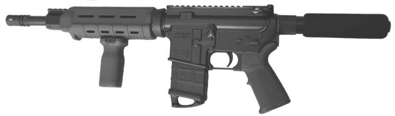 Can you add a vertical fore-grip to an AR pistol? - The Law